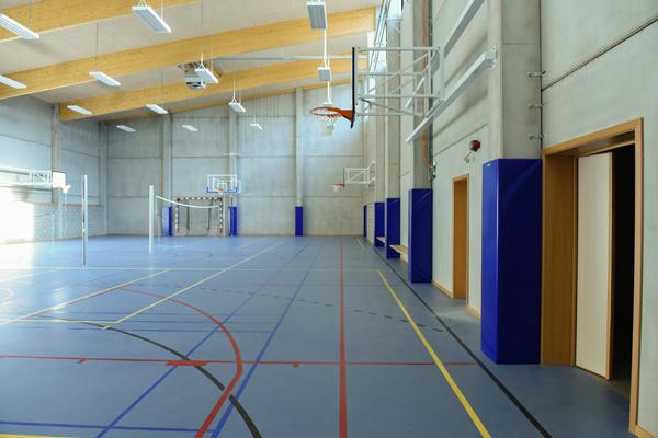 Le Collège Royal Marie-Thérèse de Herve inaugure sa nouvelle salle de sport!