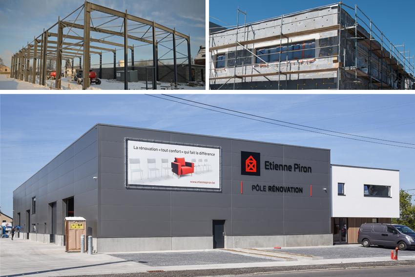 Le nouveau bâtiment de l'entreprise Étienne Piron, fruit d'une excellente collaboration!